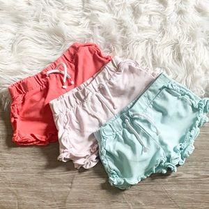 Zara Baby Girls Ruffle Shorts Bundle